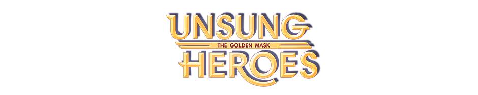 Unsung Heroes - The Golden Mask Official Walkthrough - Game Logo
