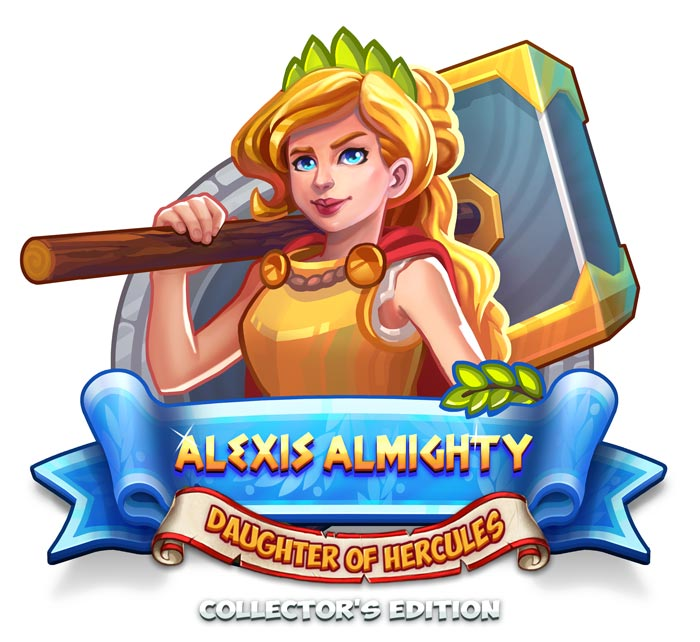 Alexis Almighty - Daughter of Hercules Collector's Edition - GameHouse Premiere Exclusive - Logo