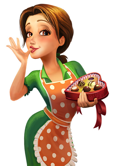 Delicious - Emily's True Love Official Art - GameHouse