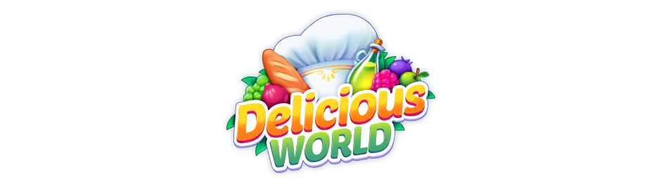Delicious World Logo - GameHouse