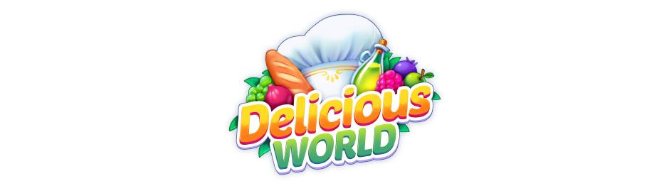 Delicious World Logo - GameHouse