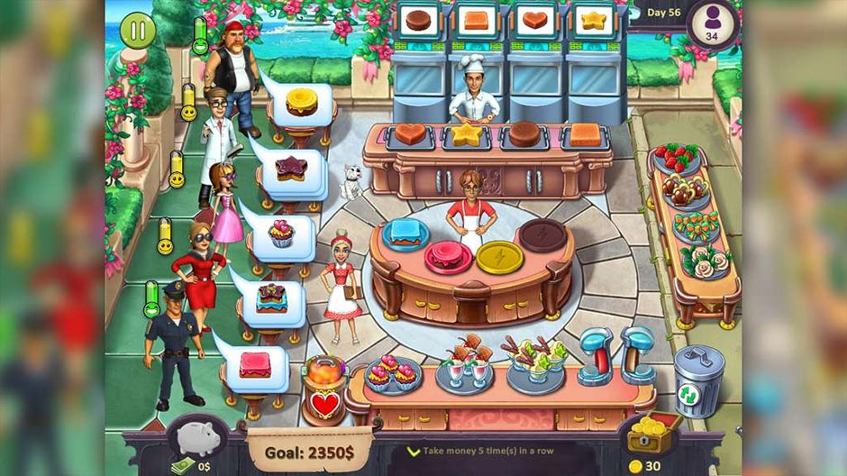 Katy and Bob - Cake Cafe Collector's Edition - GameHouse