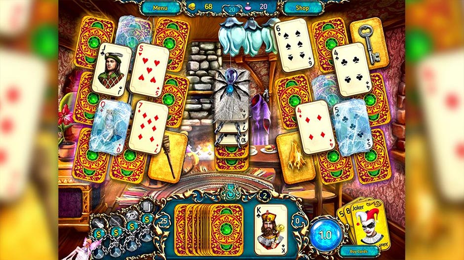 Dreamland Solitaire - Dragon's Fury - GameHouse