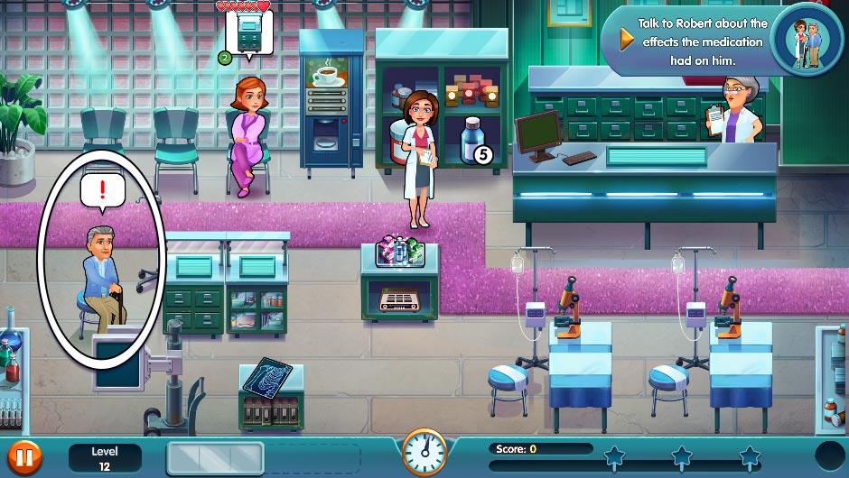 Heart's Medicine - Season One Remastered Edition - Level 12 - GameHouse Official Walkthrough