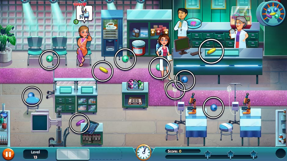 Heart's Medicine - Season One Remastered Edition - Level 13 - GameHouse Official Walkthrough