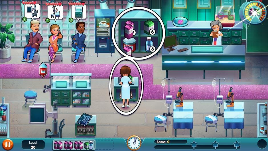 Heart's Medicine - Season One Remastered Edition - Level 20 - GameHouse Official Walkthrough
