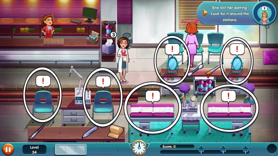 Heart's Medicine - Season One Remastered Edition - Level 34 - GameHouse Official Walkthrough
