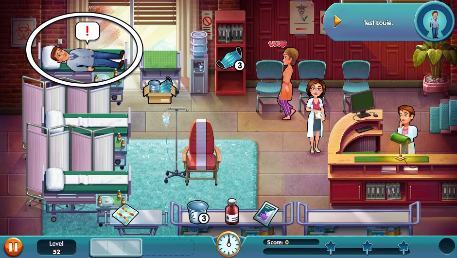 Heart's Medicine - Season One Remastered Edition - Level 52 - GameHouse Official Walkthrough