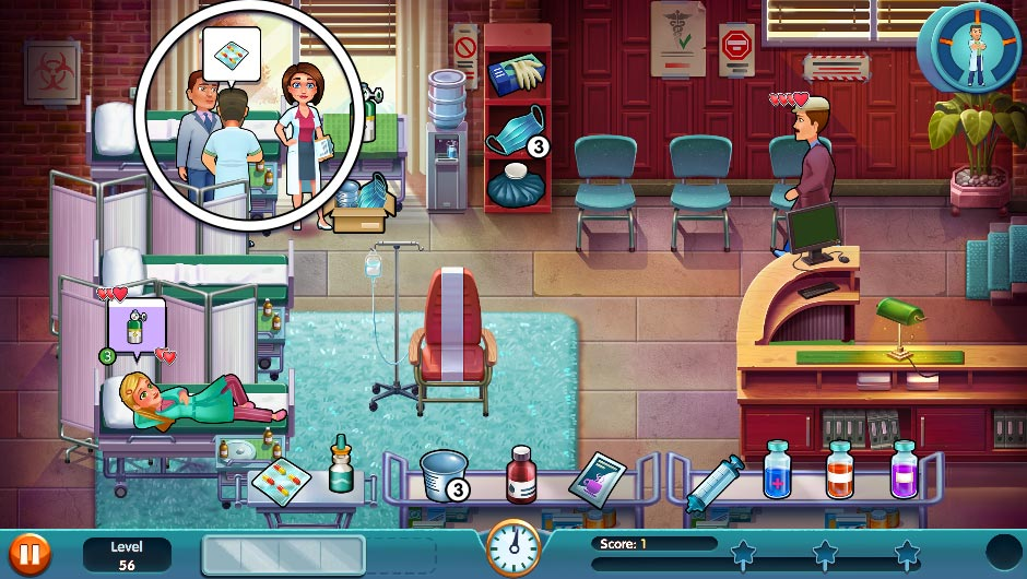Heart's Medicine - Season One Remastered Edition - Level 56 - GameHouse Official Walkthrough