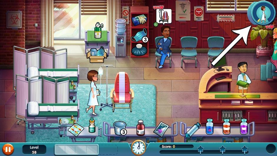 Heart's Medicine - Season One Remastered Edition - Level 58 - GameHouse Official Walkthrough