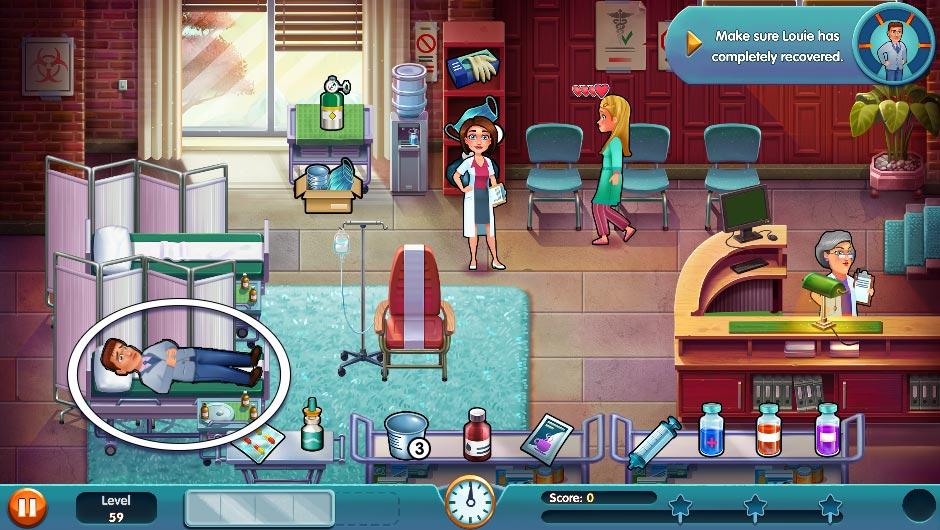 Heart's Medicine - Season One Remastered Edition - Level 59 - GameHouse Official Walkthrough