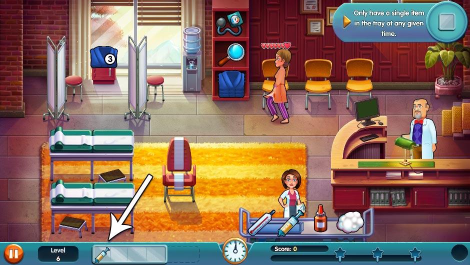 Heart's Medicine - Season One Remastered Edition - Level 6 - GameHouse Official Walkthrough