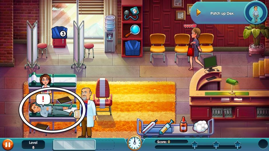 Heart's Medicine - Season One Remastered Edition - Level 8 - GameHouse Official Walkthrough