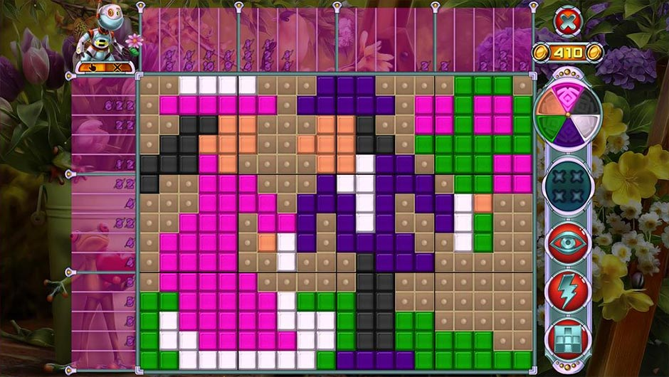 Rainbow Mosaics - Garden Helper - GameHouse