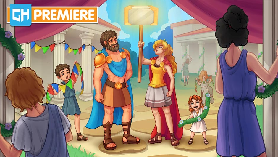 Alexis Almighty - Daughter of Hercules Collector's Edition - GameHouse Premiere Exclusive