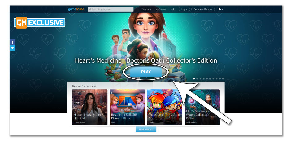 Step 4 - How to Redownload Heart's Medicine - Doctor's Oath - GameHouse