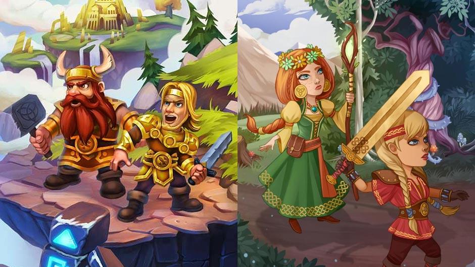 Viking Brothers & Viking Sisters - GameHouse