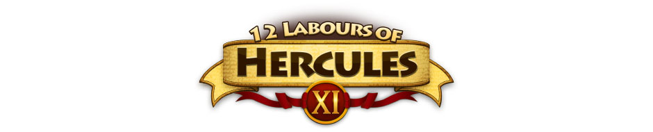 12 Labours of Hercules XI Logo - GameHouse Premiere Exclusive