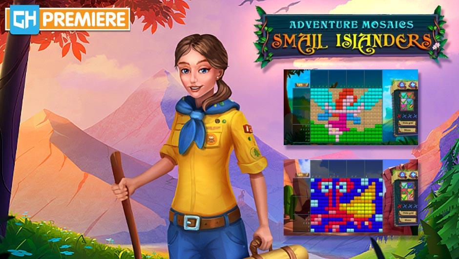 Adventure Mosaics - Small Islanders - GameHouse Premiere Exclusive