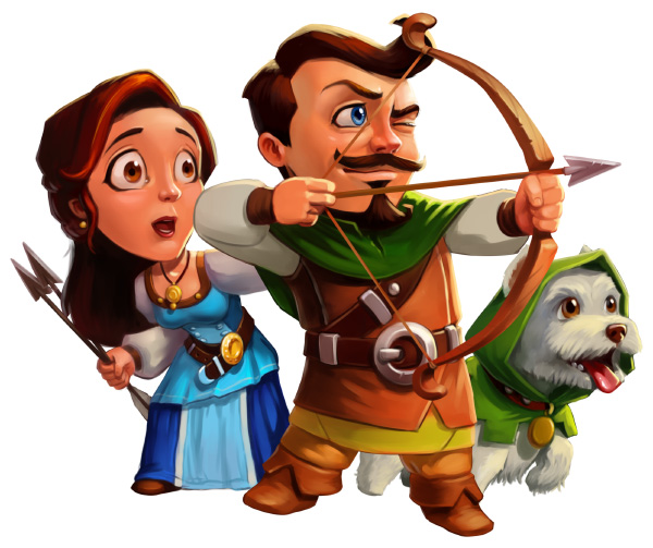 Robin Hood - Winds of Freedom Official Art - GameHouse Premiere