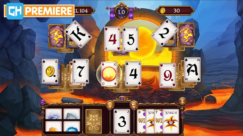 Solitaire Elemental Wizards - GameHouse Premiere Exclusive