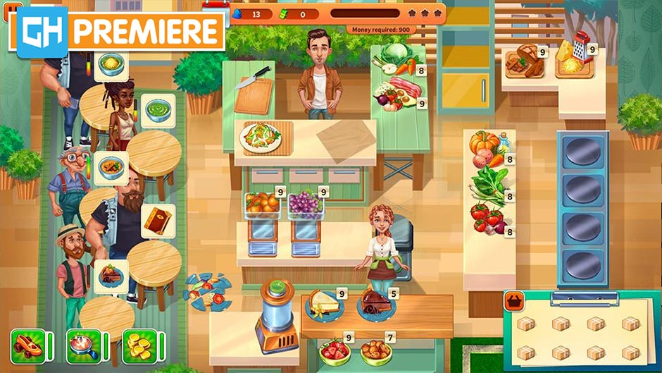 Baking Bustle Collector's Edition - GameHouse Premiere Exclusive - Screenshot 1