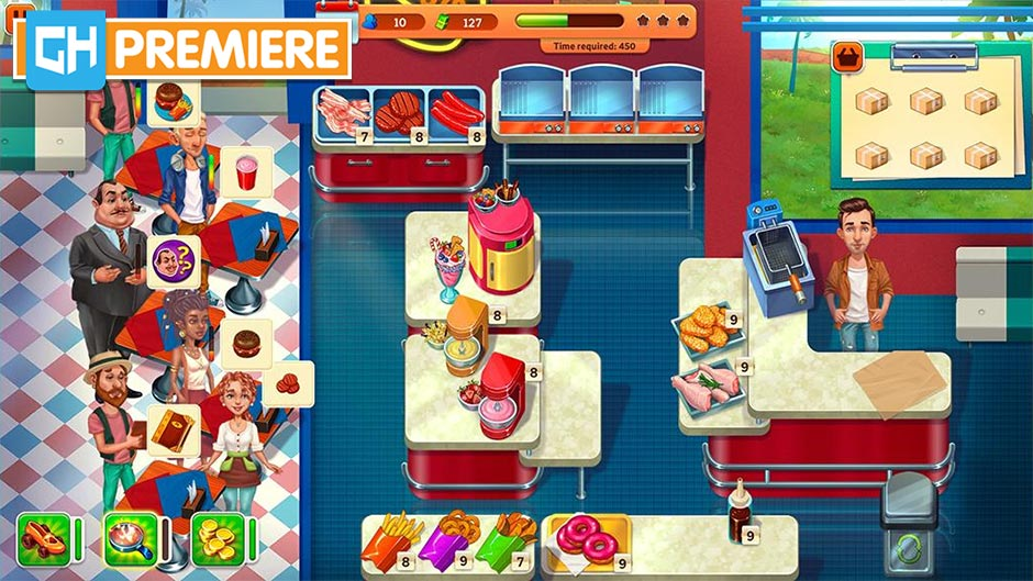 Baking Bustle Collector's Edition - GameHouse Premiere Exclusive - Screenshot 2