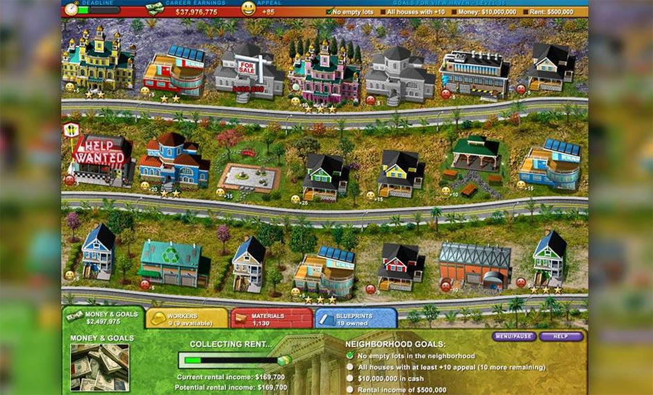 Build-a-Lot 2 - Town of the Year - GameHouse Classic