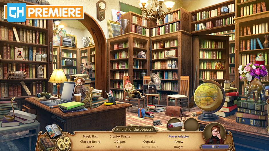 Faircroft's Antiques - Treasures of Treffenburg Collector's Edition - GameHouse Premiere Exclusive - Library