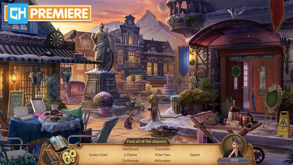 Faircroft's Antiques - Treasures of Treffenburg Collector's Edition - GameHouse Premiere Exclusive - Town