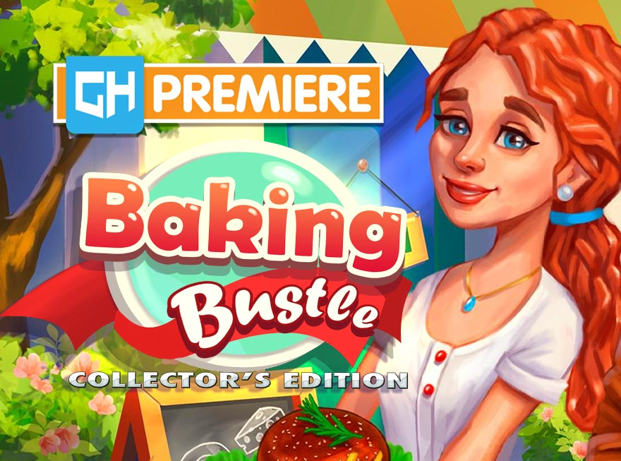 Get Cooking with the GameHouse Premiere of Baking Bustle!