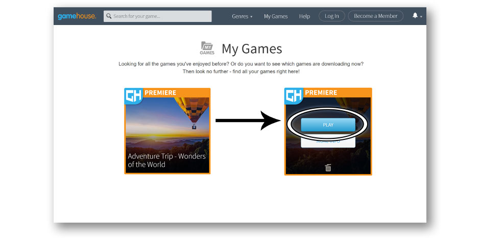 Step 2 - How to Update a Game - GameHouse