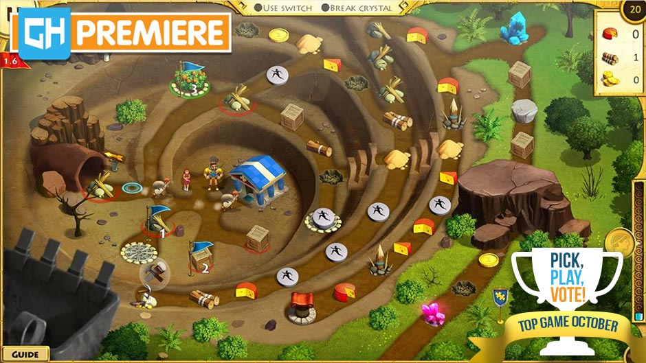 12 Labours of Hercules XI - Painted Adventure Collector's Edition - GameHouse Premiere Exclusive