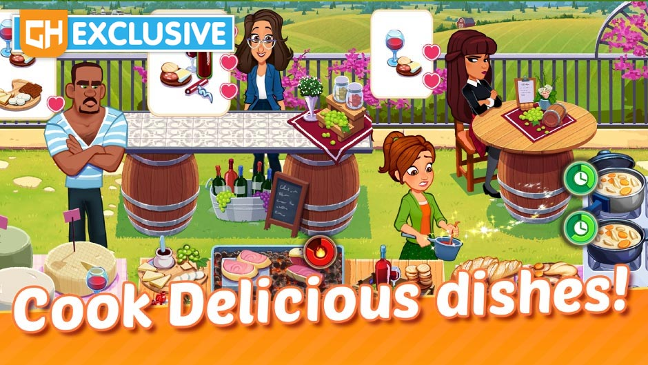 Delicious World - GameHouse Original Stories - GHOS App Exclusive