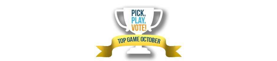 Pick, Play, Vote #2 Winner - Top Casual Game October 2020