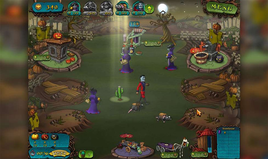 Vampires vs. Zombies - GameHouse
