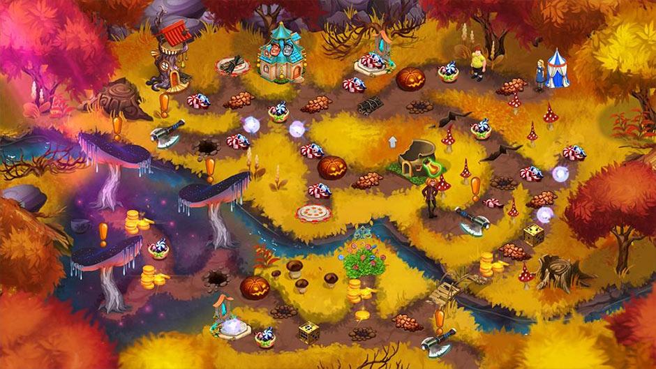 Alice's Wonderland 4 - Festive Craze Collector's Edition - GameHouse