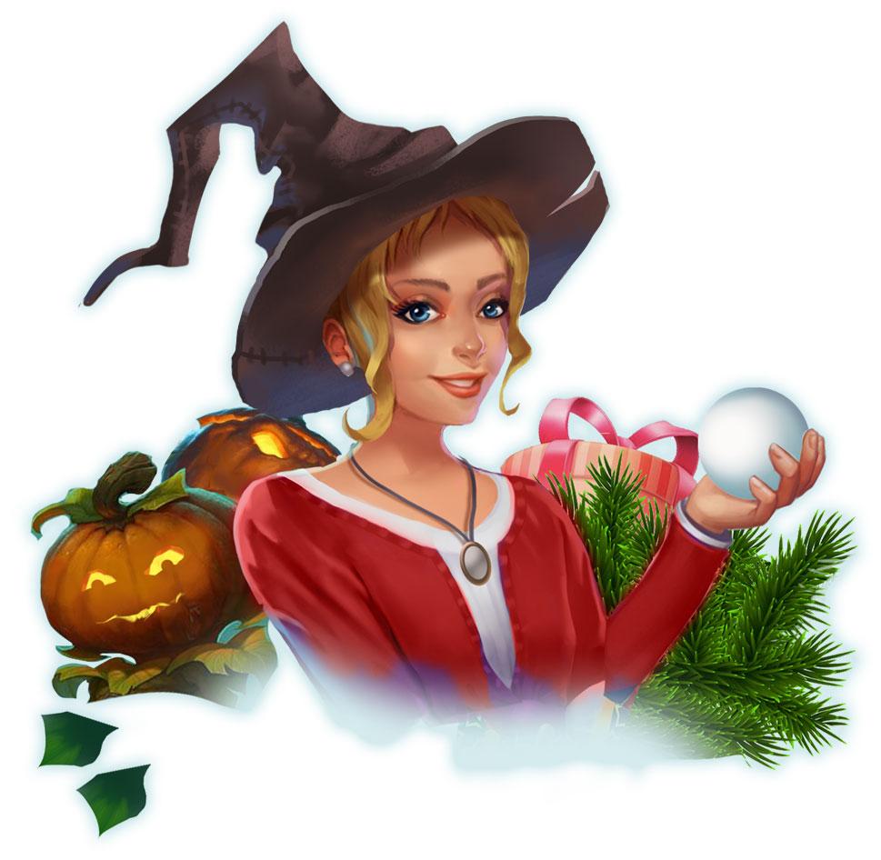 Alice's Wonderland 4 - Festive Craze Official Art - Alice - GameHouse