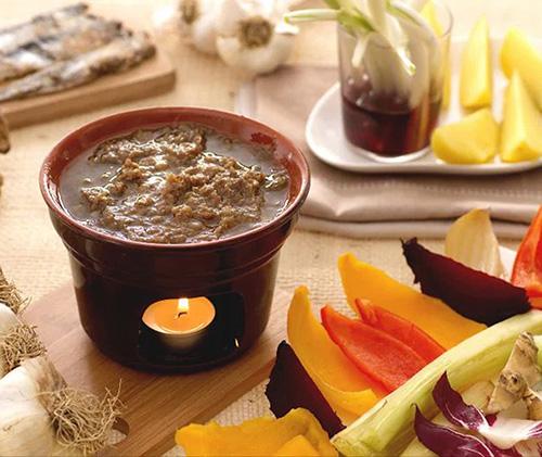 Bagna Cauda is a delicious Italian social delicacy.
