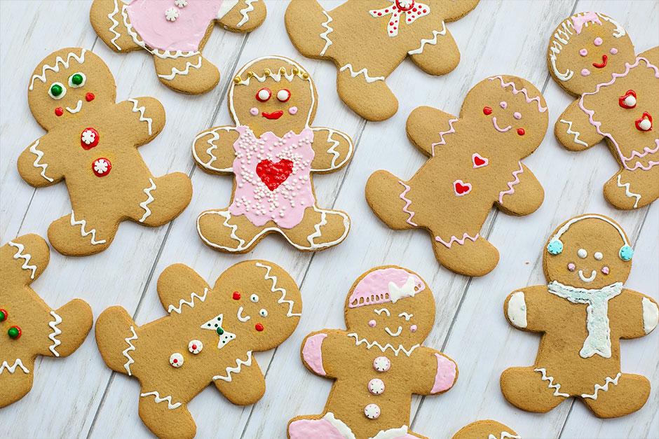 Best Holiday Snacks - Gingerbread Cookies