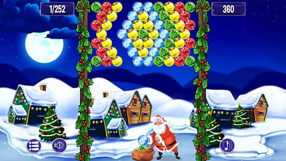 Bubble Shooter Adventures - Christmas Edition - GameHouse