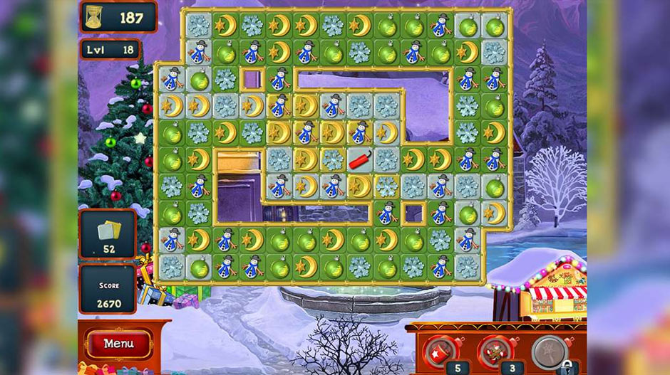 Christmas Puzzle Series - Match 3 Games - GameHouse
