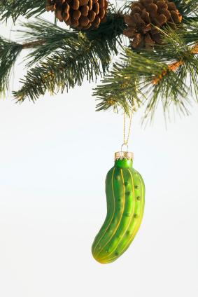 Pickle Ornament - Weird Christmas Traditions