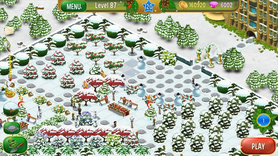 Queen's Garden - Christmas - GameHouse