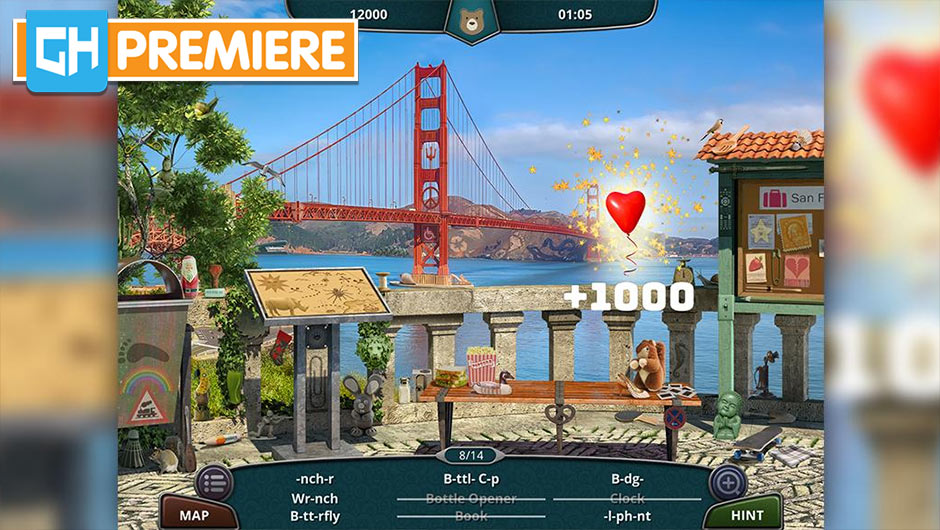 Vacation Paradise – California - GameHouse Premiere Exclusive