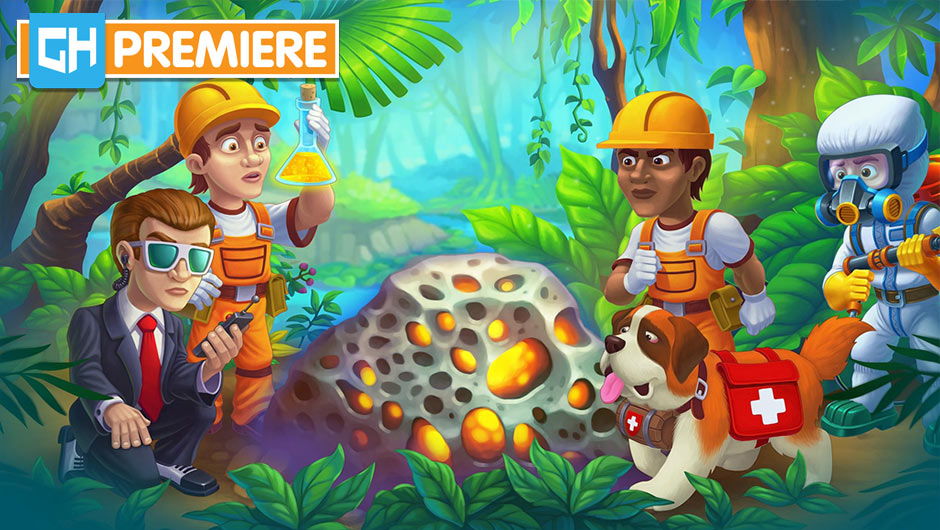 Rescue Team - Danger from Outer Space! Collector's Edition - GameHouse Premiere Exclusive