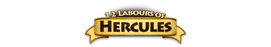 12 Labours of Hercules Logo - GameHouse Premiere Exclusive