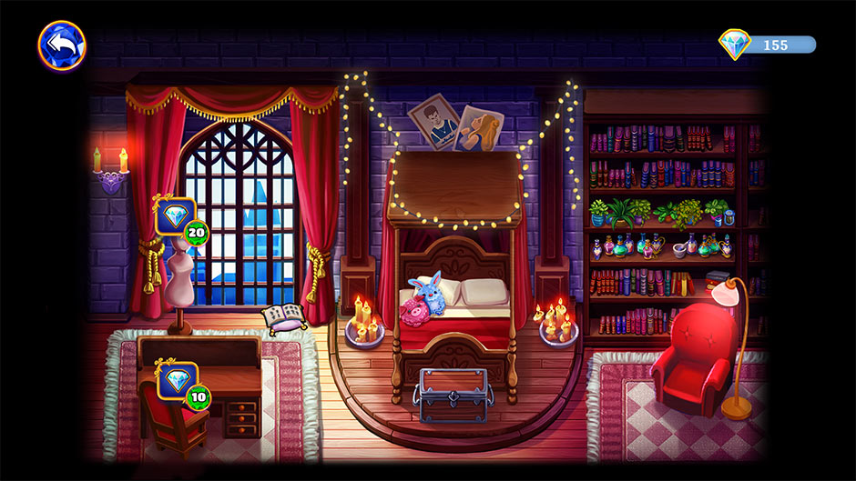 Arcane Arts Academy - Decorate Erika's Dorm Room!