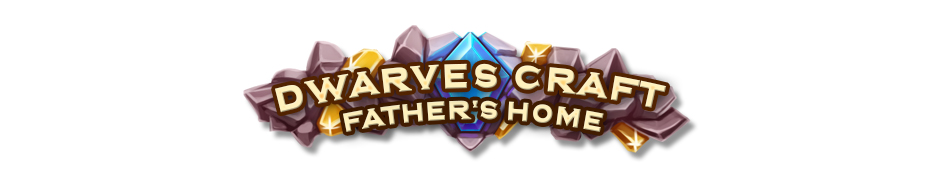 Dwarves Craft - Father's Home Logo - GameHouse Premiere Exclusive