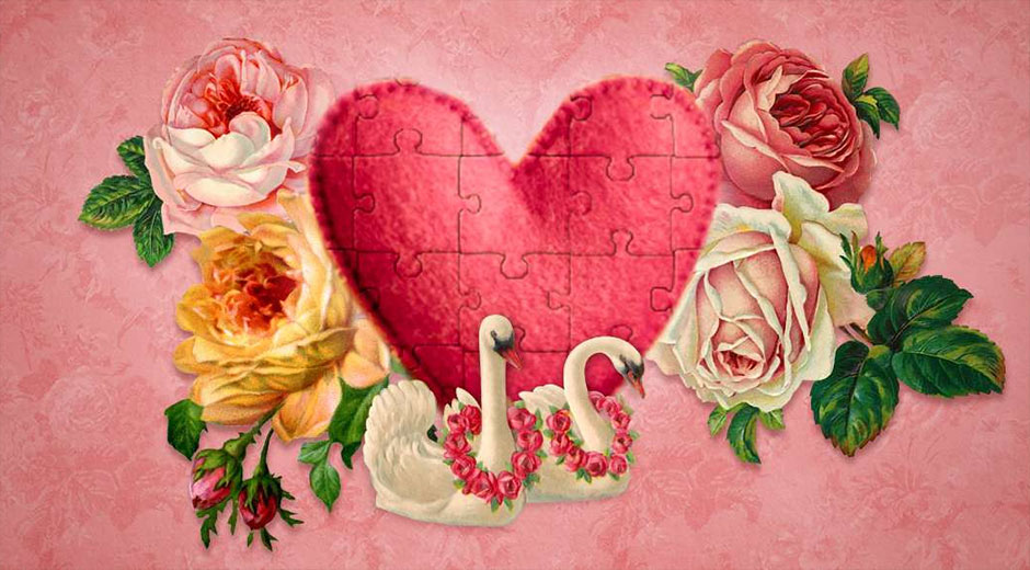 Holiday Jigsaw Valentine's Day 4 - GameHouse Puzzle Games